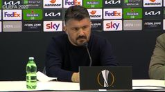 Napoli, Gattuso dopo l'eliminazione: