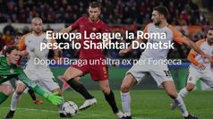 Europa League, la Roma pesca lo Shakhtar Donetsk