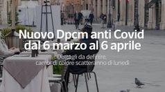 Nuovo Dpcm anti-Covid dal 6 marzo al 6 aprile