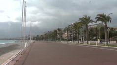 Francia, Nizza deserta per il lockdown valido nel weekend