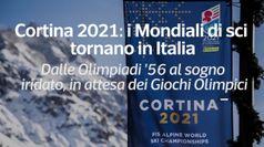 Cortina 2021: i Mondiali di sci tornano in Italia