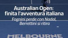 Australian Open, finita l'avventura italiana