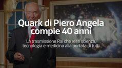 Quark di Piero Angela compie 40 anni