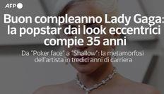 Buon compleanno Lady Gaga: la popstar dai look eccentrici compie 35 anni
