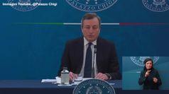 Dl Sostegni, Draghi: