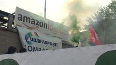 Amazon, sciopero a Milano: