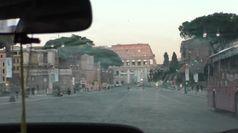 In taxi per Roma semivuota, tassista: