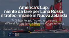 America's Cup, niente da fare per Luna Rossa: il trofeo rimane in Nuova Zelanda