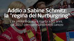 Addio a Sabine Schmitz: la