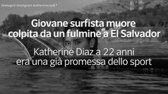 Giovane surfista muore colpita da un fulmine a El Salvador