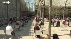 La filarmonica di New York Philharmonic torna ad esibirsi al Lincoln Center