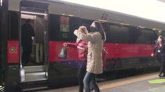 Partito da Roma Termini il primo treno Covid-free diretto a Milano