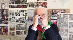 Covid, vaccinato a 96 anni uno degli ultimi partigiani d'Italia