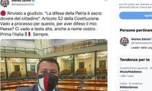 Open Arms, Salvini a giudizio: