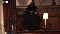 Funerali Filippo, il dolore della Regina