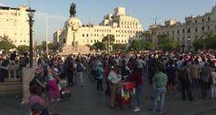 Peru', protesta a Lima contro i risultati delle Presidenziali