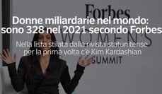 Donne miliardarie nel mondo: sono 328 nel 2021 secondo Forbes