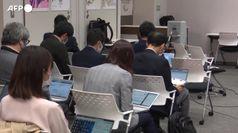 Tokyo 2020, a Osaka niente pubblico alla staffetta della torcia