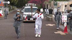 Tokyo2020, a Osaka la torcia olimpica viaggia senza pubblico