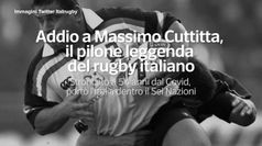 Addio a Massimo Cuttitta, il pilone leggenda del rugby italiano
