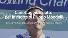 Canottaggio in lutto per la morte di Filippo Mondelli